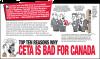 Comic about CETA