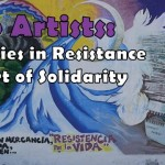 "Call to artists: ""communities in resistance and the art of solidarity"""
