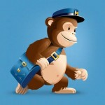 a mailchimp delivers a bag of mail